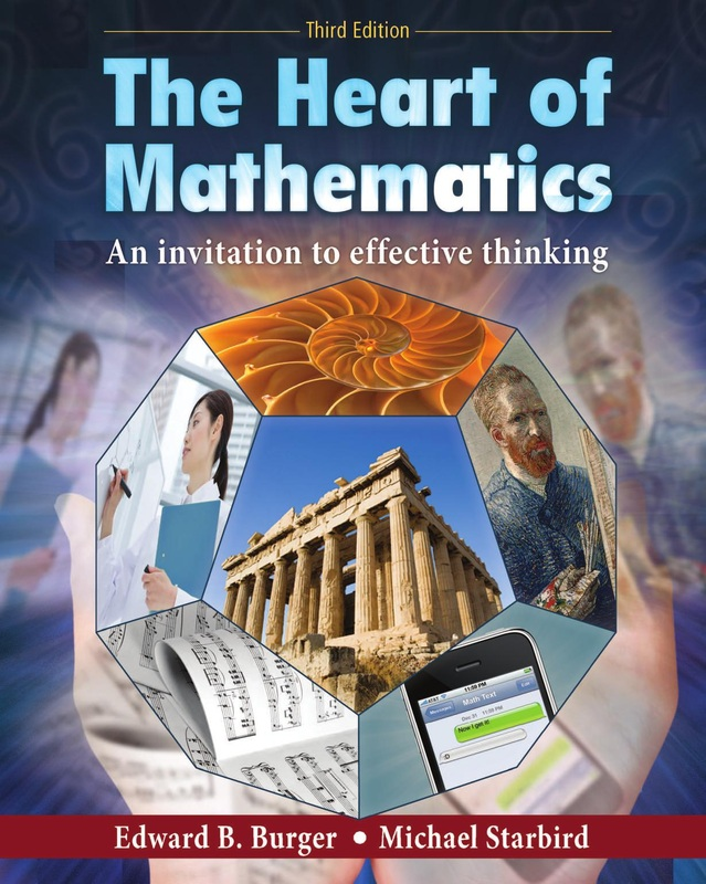 Mathematics online ebooks store the heart of mathematics an invitation to effective thinking by edward b burger and michael starbird fandeluxe Image collections