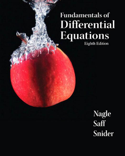 Mathematics online ebooks store fundamentals of differential equations 8th edition by r kent nagle edward b saff and arthur david snider fandeluxe Image collections