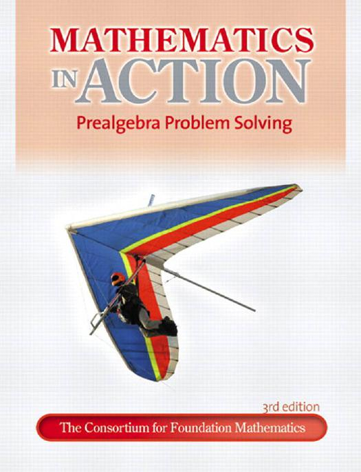 Mathematics online ebooks store mathematics in action prealgebra problem solving 3rd edition by consortium for foundation mathematics fandeluxe Image collections