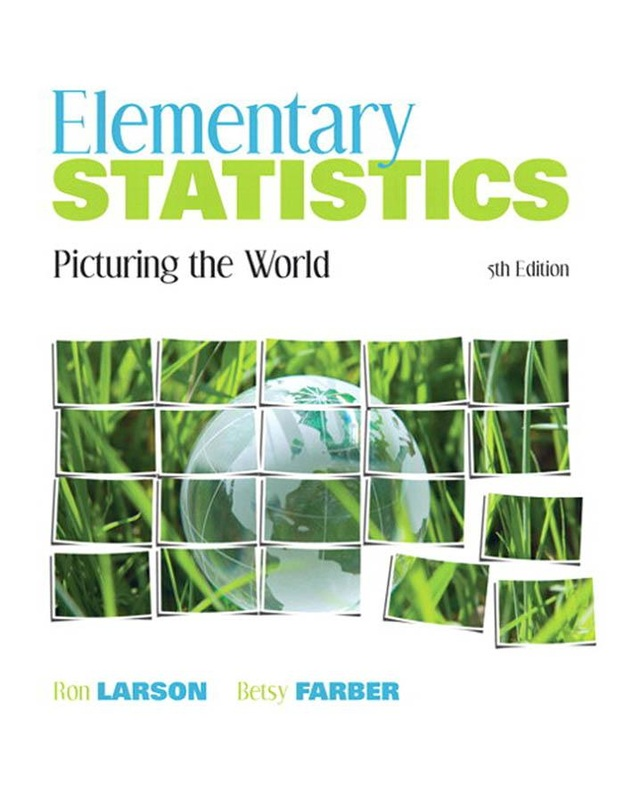 Management online ebooks store elementary statistics picturing the world 5th edition by ron larson and betsy farber fandeluxe Image collections